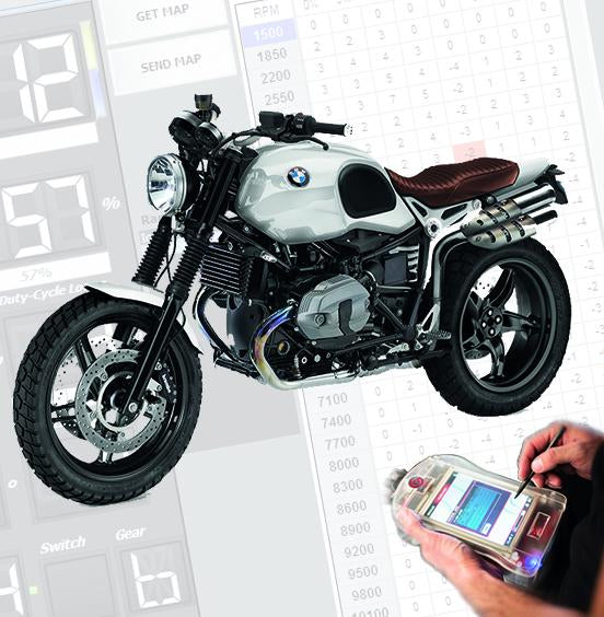 Tovami ECU tuning BMW R nine T 2014-2019