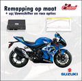 Tovami remapping, quickshifter, autoblip and race options Suzuki GSXR1000 2017-2019