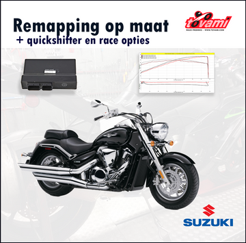 Tovami remapping, quickshifter and race options Suzuki Intruder M1800 / Boulevard M109R 2006-2008