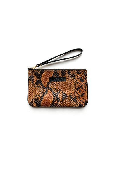 Mini Clutch<br/> Cobra camel