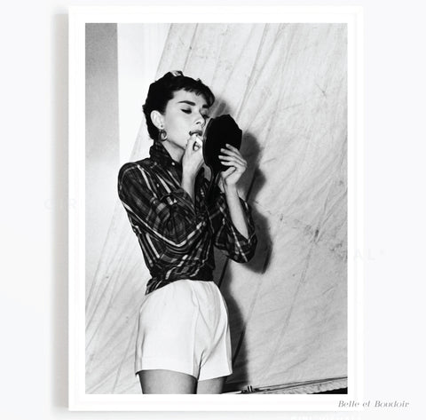 Audrey Fashion Photography print