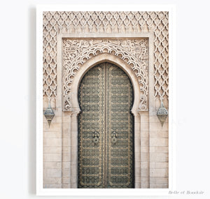 Moroccan Building Door