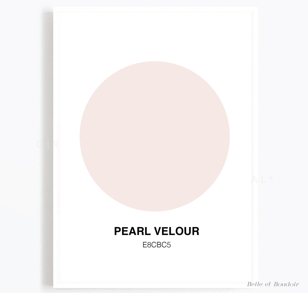Colour Series - Pearl Velour