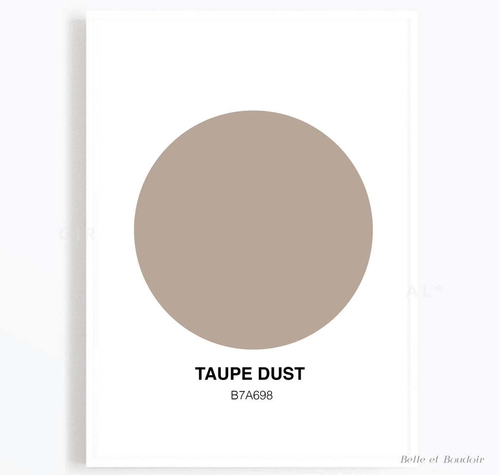 Colour Series - Taupe Dust
