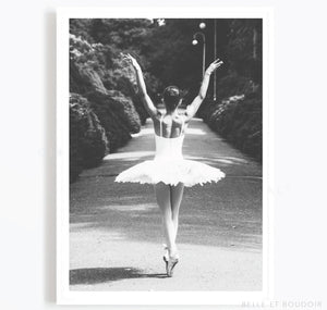 Ballet Fashion Photography print