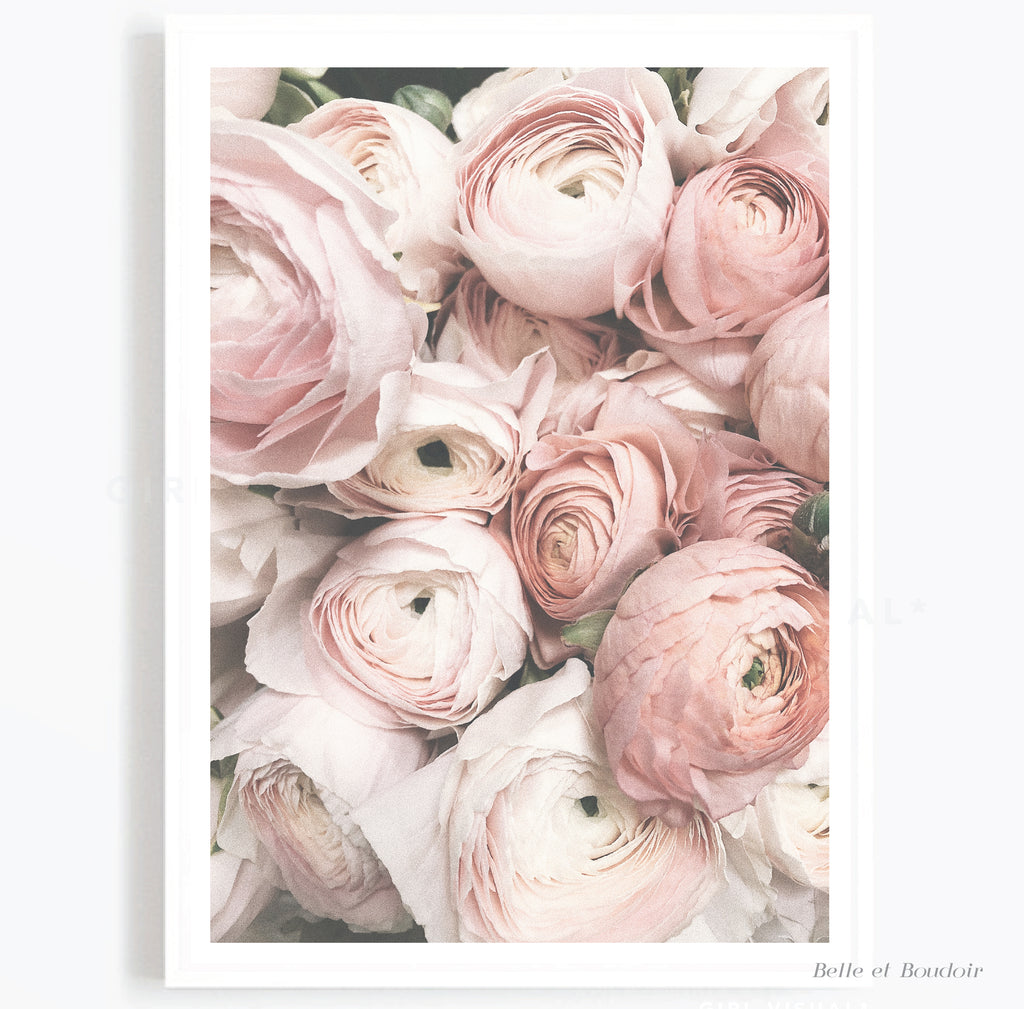 Blush Floral Bouquet Print