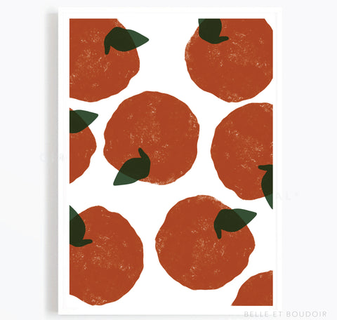 Clementines print
