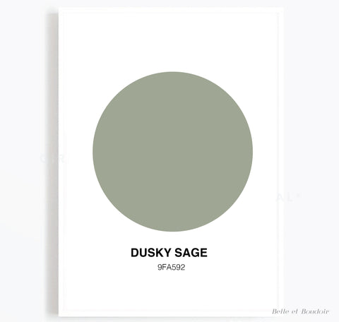 Colour Series - Dusky Sage