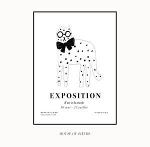 French Art Exhibition Print