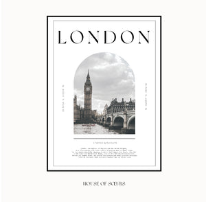Travel Collection - London art print