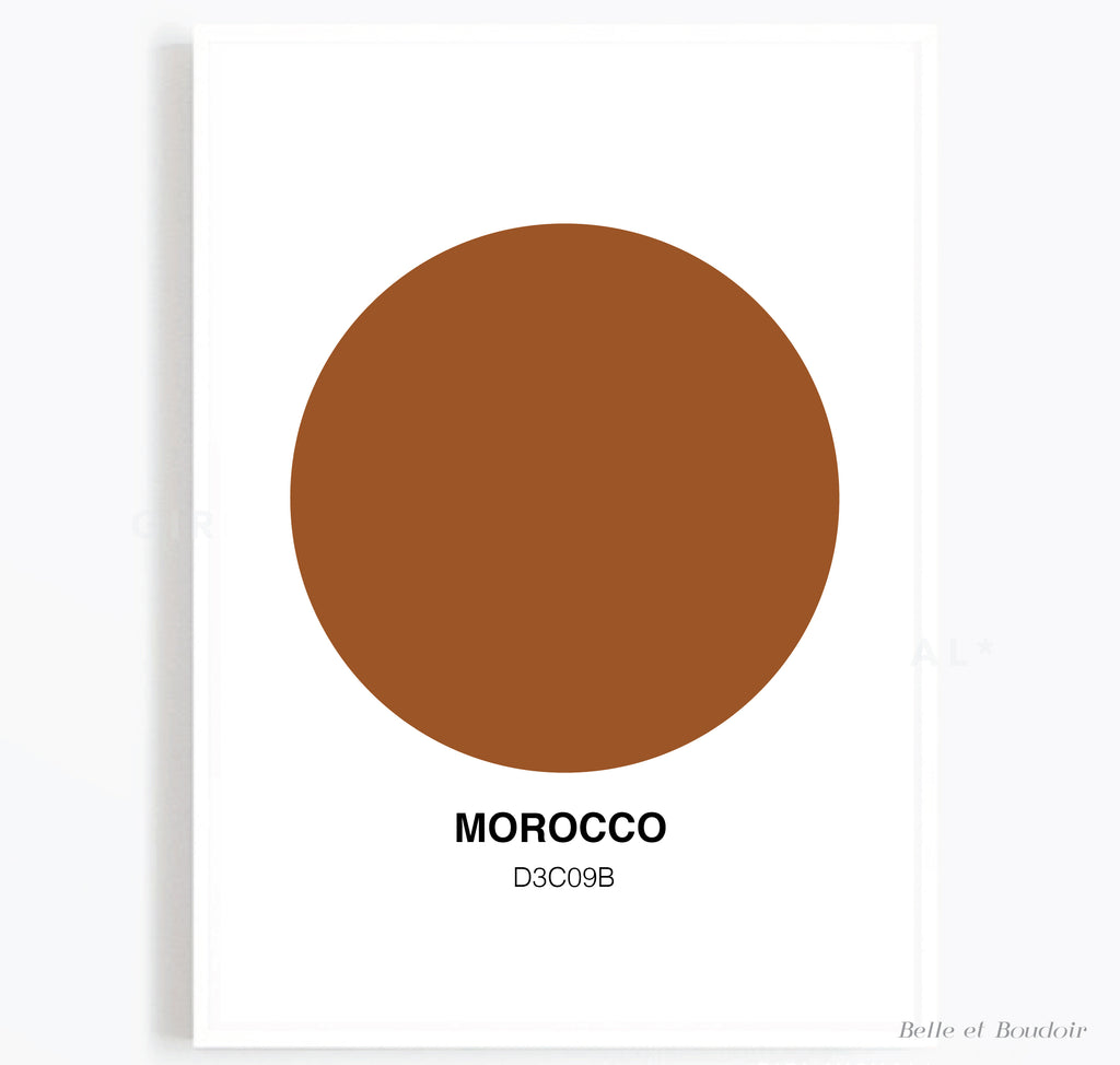 Colour Series - Morocco