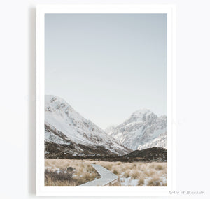 Mountain Scenery landscape Print