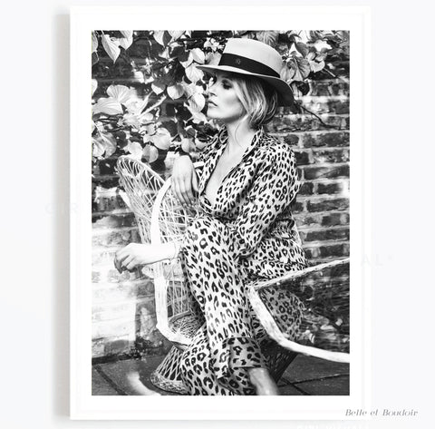 Kate Leopard Fashion Photography print