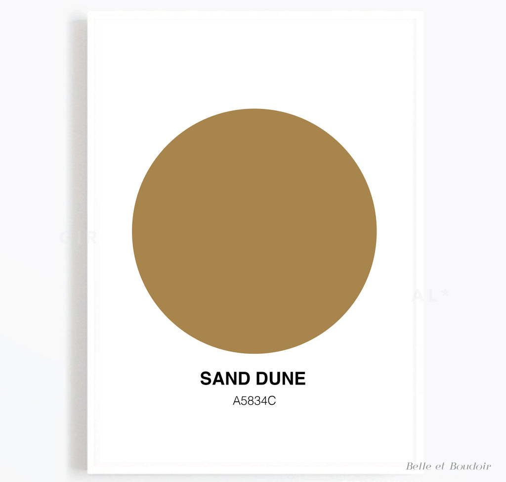 Colour Series - Sand Dune