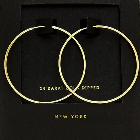 "1.5"" Hoop Earrings"