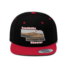 Load image into Gallery viewer, Sandhills Shooter Flat Bill Hat