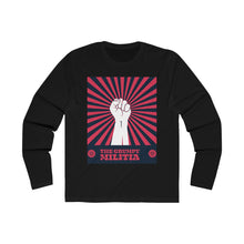 Load image into Gallery viewer, The Crumpy Militia Long Sleeve Crew Tee