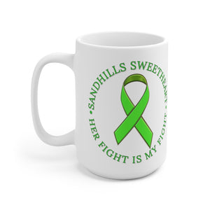 Sandhills Sweetheart Her Fight Ceramic Mug 15oz