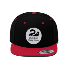 Load image into Gallery viewer, Black Swan Media Group Flat Bill Hat