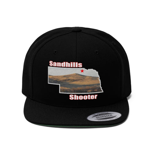 Sandhills Shooter Flat Bill Hat