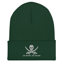 Load image into Gallery viewer, No Quarter For Tyrants Cuffed Beanie