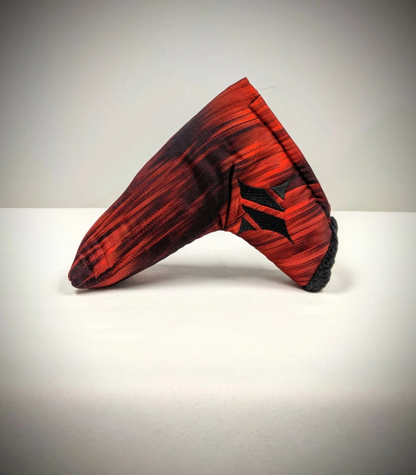 Silk Blade Putter Cover - Red/Black