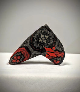 Silk Blade Putter Cover - Black/Red