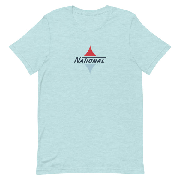 National Text Logo Short-Sleeved T-Shirt