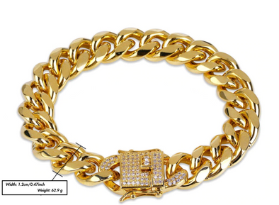 Urban-Kings™ | Gold Cuban Bracelet