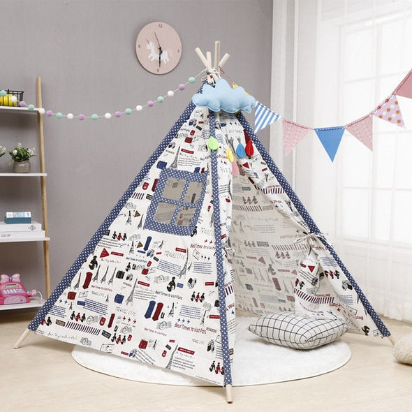Large Children's Tent Tipi For Indoors
