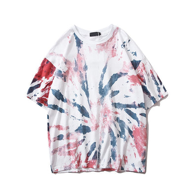 Urban-Kings™ | Red Tie Dye Tee