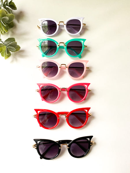 'Ada' Cat Eye Sunglasses (6 Color Options)
