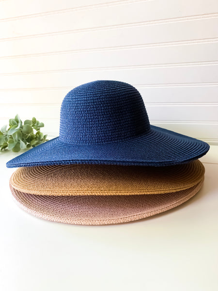 Cienna Floppy Hats (4 color options)