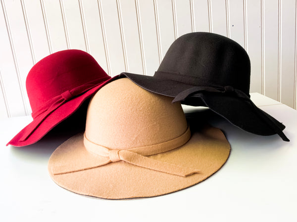 Nora Floppy Hats (3 Color Options)