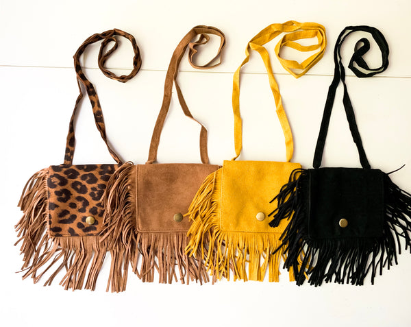 Riley Fringe Bags (4 Color Options)