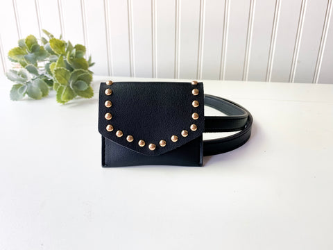 'Flor' Studded Coin Belt