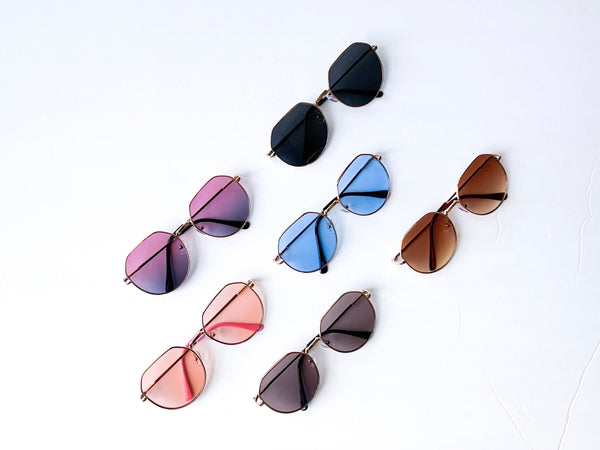 'HENDRIX' Sunglasses (6 Color options)