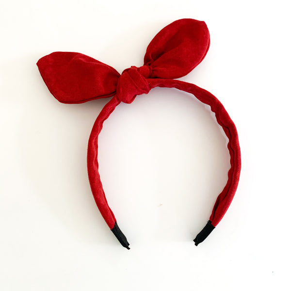 Bow Headband (3 color options)