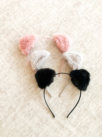 Pom Headbands (3 colors available)