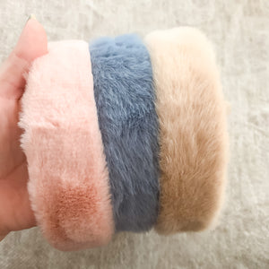 Plush Headbands (3 color options)