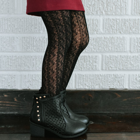 Boho Lace Tights (6 color options)