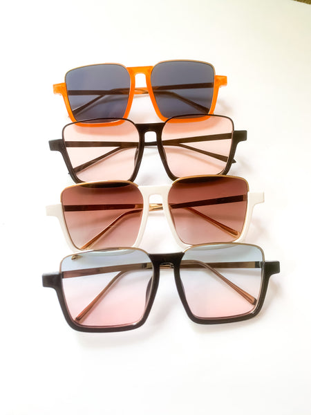 PIPER Square Sunglasses (4 color options)