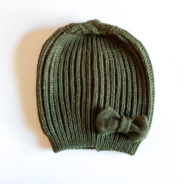 Bow Beanies (3 color options)