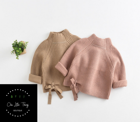 LEXI Mock Sweater (2 color options)