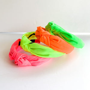 Neon Knot Headbands (4 color options)