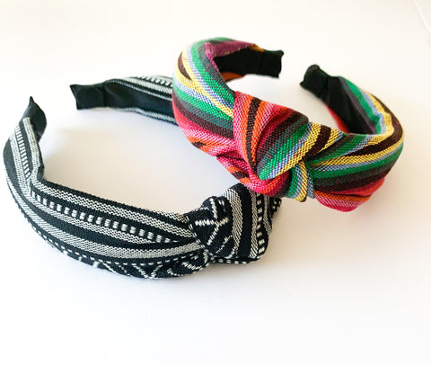 Multi colored headbands