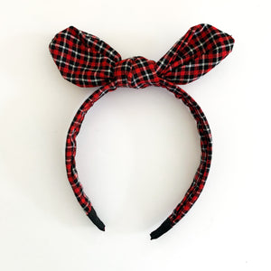 Plaid Headband