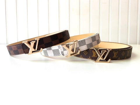 'Elle' Belts (3 color options)