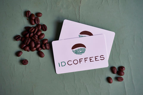 ID Coffees Gift Cards