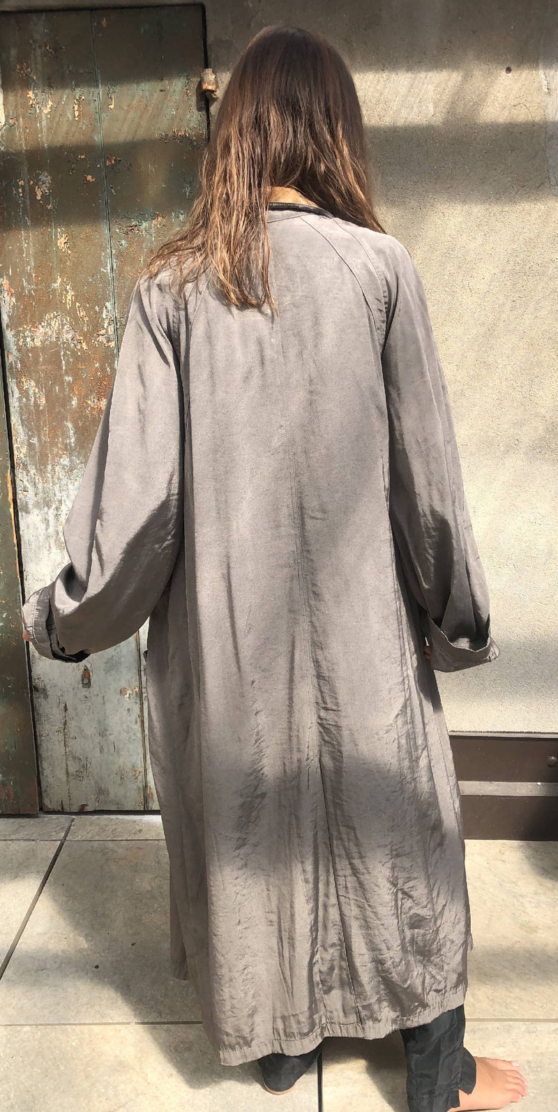 Vintage oversize 90s long trench
